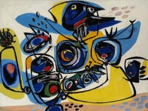 avant-garde paintings